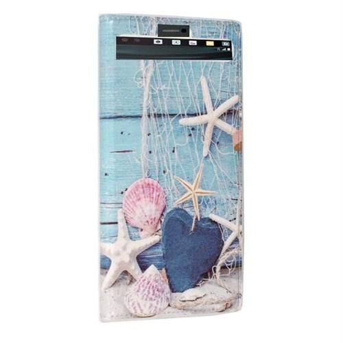 Teleplus Lg V10 Desenli Pencereli Kılıf Deniz
