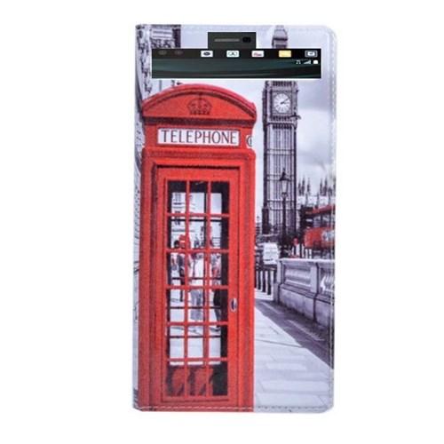 Teleplus Lg V10 Desenli Pencereli Kılıf Telefon
