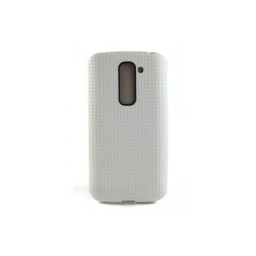 Teleplus Lg G2 Mini Ultra Korumalı Silikon Kılıf Beyaz