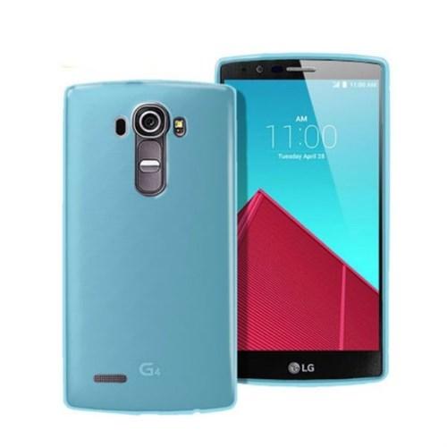 Teleplus Lg G4 Stylus Silikon Kılıf Mavi