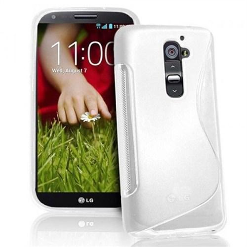 Teleplus Lg G2 Silikon Kılıf Beyaz