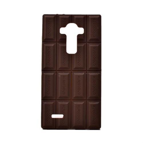 Teleplus Lg G4 Silikon Kılıf Çikolata