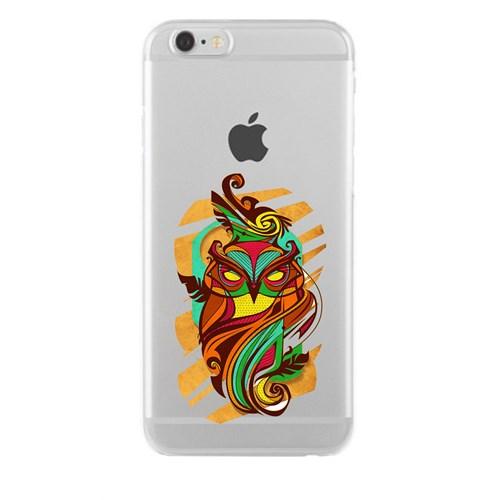 Remeto iPhone 6/6S Plus Şeffaf Silikon Resimli Efsunlu Baykuş