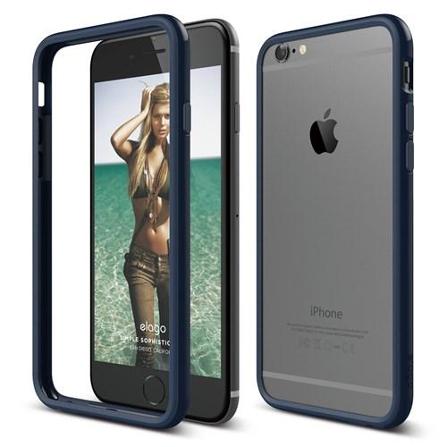 Elago Apple İphone 6 6S Kılıf Elago Bumper Lacivert