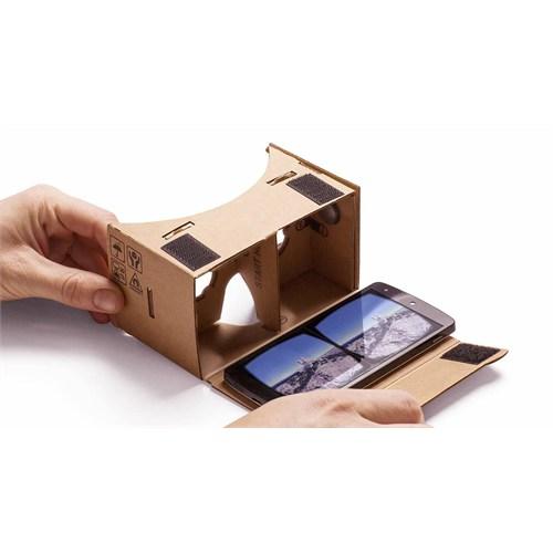 Melefoni Google Cardboard Vr 3D Sanal Gerçeklik Gözlüğü 3.5 - 5.2İnc Uyumlu