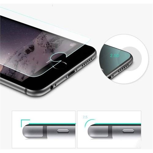Melefoni Apple İphone 6S Ekran Koruyucu Kırılmaz Cam Melefoni Şeffaf