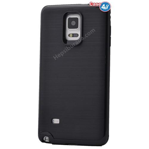 Case 4U Samsung Galaxy Note 4 Infinity Koruyucu Kapak Siyah