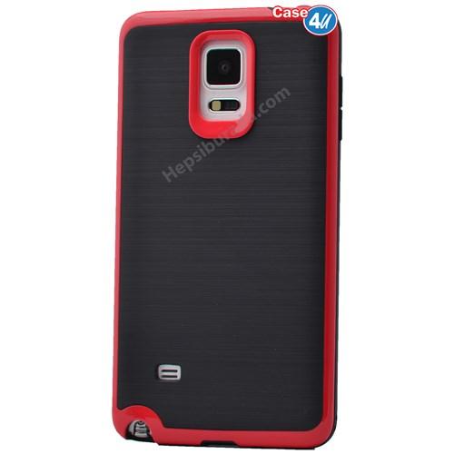 Case 4U Samsung Galaxy Note 4 Infinity Koruyucu Kapak Kırmızı
