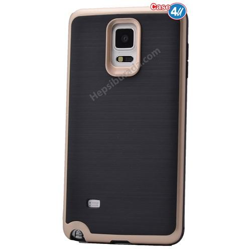 Case 4U Samsung Galaxy Note 4 Infinity Koruyucu Kapak Altın