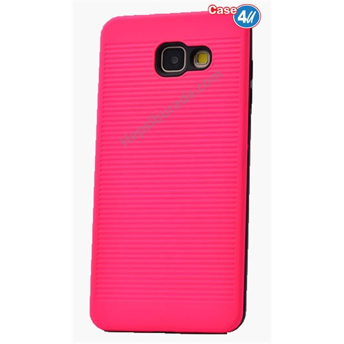 Case 4U Samsung A710 Galaxy A7 You Koruyucu Kapak Pembe