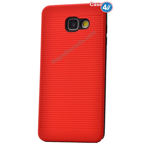 Case 4U Samsung A310 Galaxy A3 You Koruyucu Kapak Kırmızı