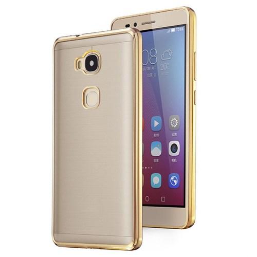 Microsonic Huawei Gr5 (Honor 5X/X5) Kılıf Flexi Delux Gold