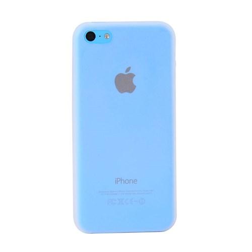 Duck Apple iPhone 5C Slikon Skiny Kapak Daily Beyaz