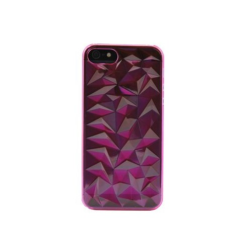 Vacca Apple İphone 5 Plexy Diamond Pink Kapak