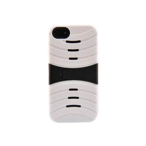 Duck Apple iPhone 5 Buldozer Ayakli Beyaz Kapak