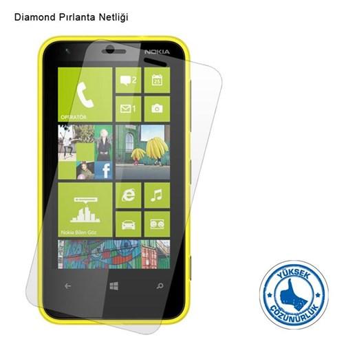 Vacca Nokia Lumia 620 Diamond Ekran Filmi