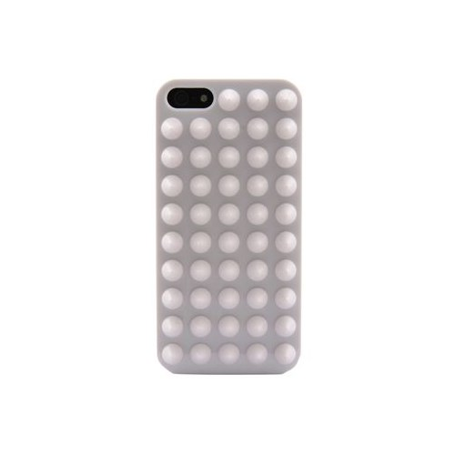 Duck Apple iPhone 5 Punk Beyaz Kapak