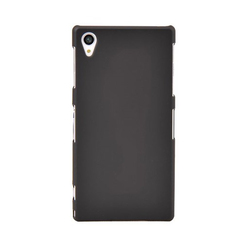 Vacca Sony Xperia Z1 Medium Hard Case Siyah