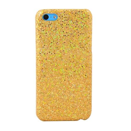 Vacca Apple İphone 5C Simli Kapak Lady-Line Gold