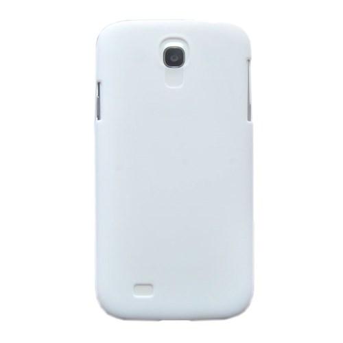 Vacca Samsung Galaxy S4 Silikon Kilif - S-Line White - Beyaz Kapak