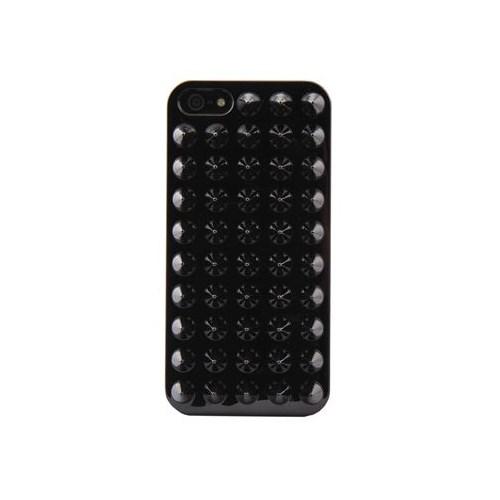 Duck Apple iPhone 5 Punk Siyah Kapak