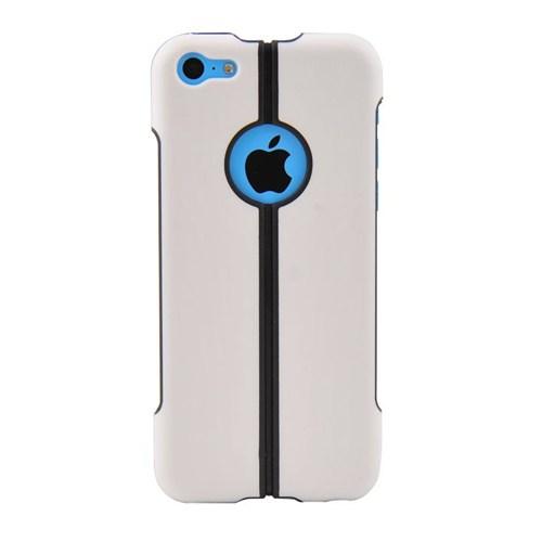 Duck Apple iPhone 5C Katlanir Kapak Daily Beyaz