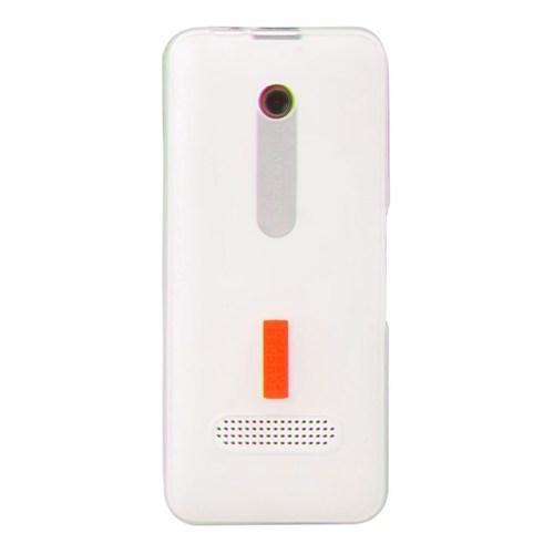 Vacca Nokia 301 Slikon Kapak Daily Beyaz