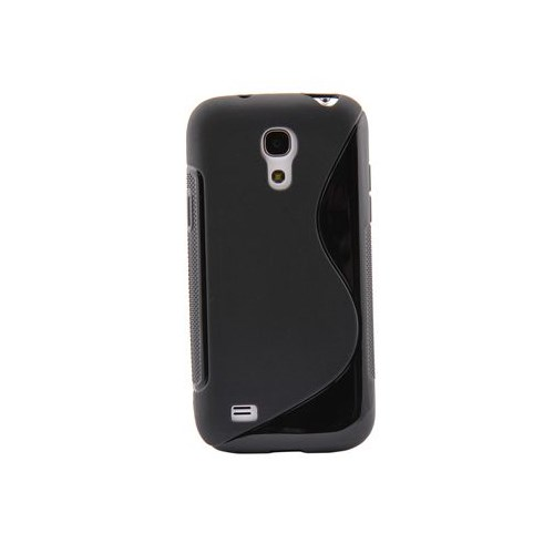 Duck Samsung Galaxy S4 Mini Silikon Kilif Daily Siyah Kapak