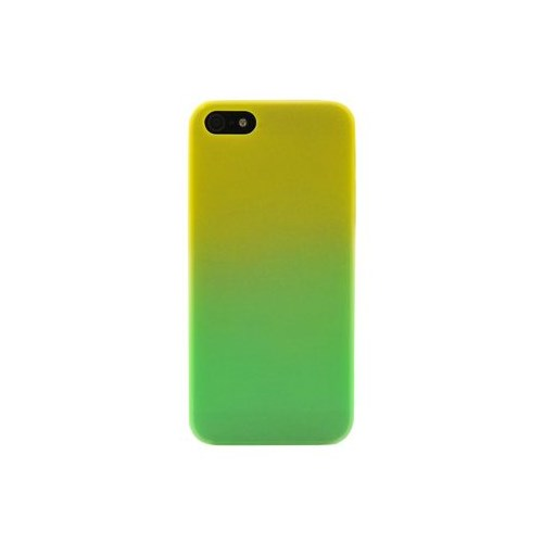 Duck Apple iPhone 5 Rainbow2 Esnek Arka Kapak