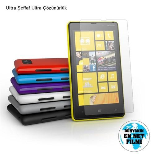 Vacca Nokia Lumia 820 Ultra Şeffaf Ekran Filmi