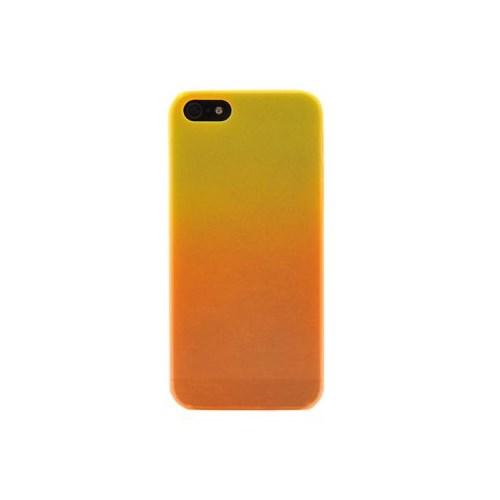 Duck Apple iPhone 5 Rainbow1 Esnek Arka Kapak