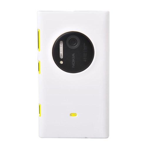 Duck Nokia 1020 Kumlu Doku Sert Kapak Daily Beyaz