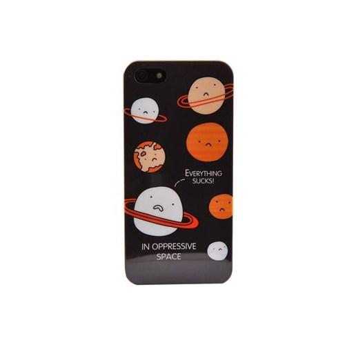 Duck Apple iPhone 5 Planets Hard Case Kapak