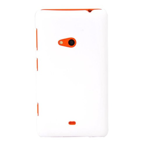 Duck Nokia 625 Medium Hard Case Daily Beyaz