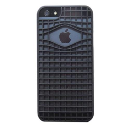 Duck Apple iPhone 5 Kafes Y-Line - Siyah Kapak