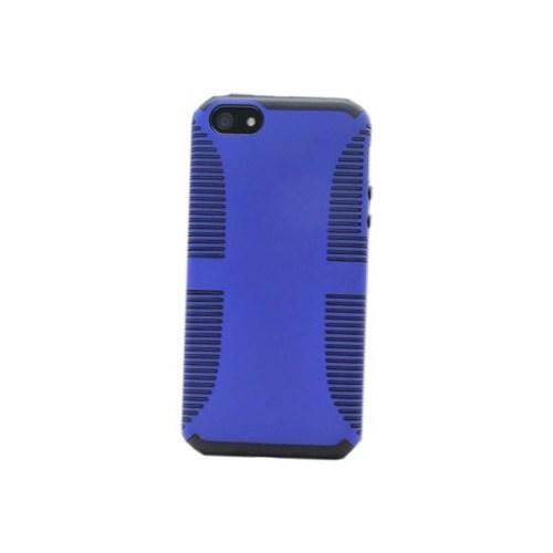 Duck Apple iPhone 5 Jean Y-Line Blue - Lacivert Kapak