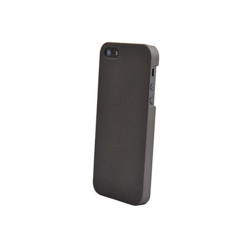 Duck Apple iPhone 5 İpeksi Doku Daily Füme Kapak