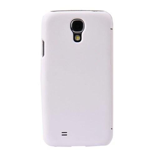 Resonare Samsung Galaxy S4 Flip Case S-Line Beyaz Kapak