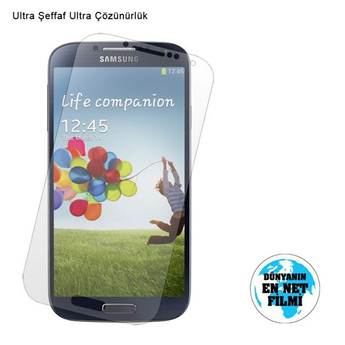 Vacca Samsung Galaxy S4 Ultra Şeffaf Ekran Filmi