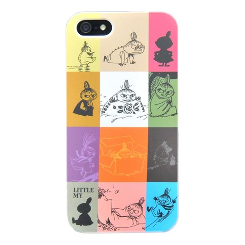 Duck Apple iPhone 5 Little My-Graphics - Renkli Ekose Kapak