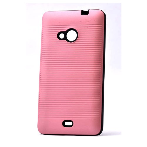 Lopard Nokia Lumia 535 Kılıf Youyu Arka Sert Kapak Şeker Pembe