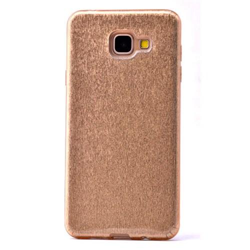 Lopard Samsung Galaxy A7 (2016) Kılıf Shining Arka Sert Kapak Gold