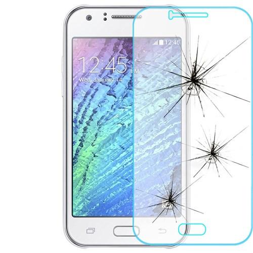 Lopard Samsung Galaxy J1 (2016) Kırılmaz Cam Temperli Ekran Koruyucu Film