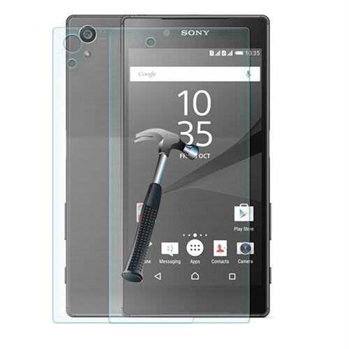 Cep Market Sony Xperia Z5 Cam Kırılmaz Ön Arka Ekran Koruyucu