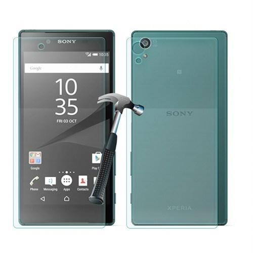 Cep Market Sony Xperia Z5 Premium Cam Kırılmaz Ön Arka Ekran Koruyucu