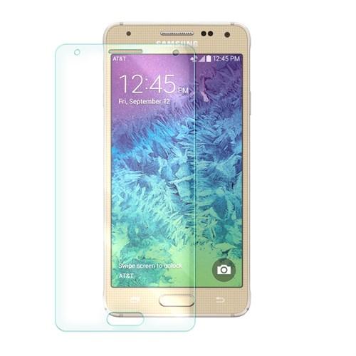 Cep Market Samsung Galaxy Alpha Cam G850 Kırılmaz Ön Ekran Koruyucu