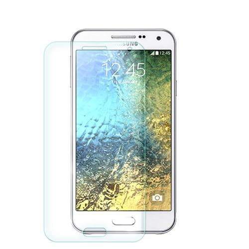 Cep Market Samsung Galaxy E5 Cam Kırılmaz Ön Ekran Koruyucu
