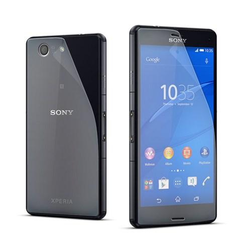 Cep Market Sony Xperia Z3 Compact Ön Arka Şeffaf Ekran Koruma Filmi