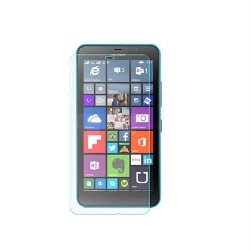 Cep Market Microsoft Lumia 640 Kırılmaz Cam Ekran Koruyucu - Tempered Glass