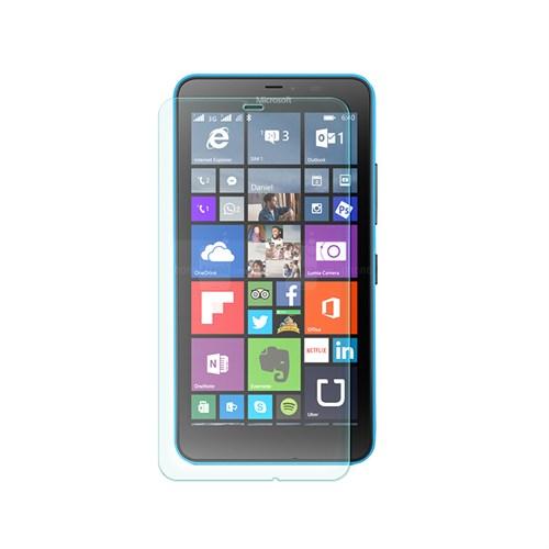 Cep Market Microsoft Lumia 640 Xl Kırılmaz Cam Ekran Koruyucu - Tempered Glass